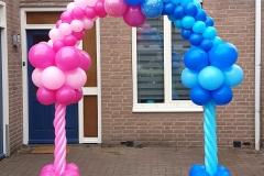 Balloon-Styling-Brabant-Tilburg-Reeshof-bekendmaking-geslachtsbepaling-gender-reveal-ballonnenboog-he-or-she-vraagteken