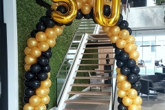 Balloon-Styling-Tilburg-Noord-Brabant-ballonnenboog-ballonboog-ballonnendecoratie-Swan-Products-50-jarig-bestaan