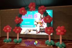 Balloon-Styling-Tilburg-ballonnenboog-ballonboog-balllonnenpilaar-ballonpilaar-Euroscoop-Ladies-Night-ballonnen-Tilburg