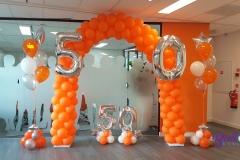 Balloon-Styling-Tilburg-ballonnenboog-ballonboog-heliumballonnen-gronddecoratie-cijferballonnen-tafeldecoratie