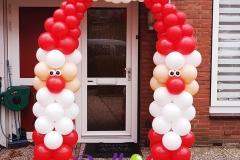 Balloon-Styling-Tilburg-ballonnenboog-ballonboog-kerstman-ballonnen-Tilburg