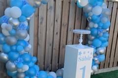 Balloon-Styling-Tilburg-ballonnencirkel-ballonnenboog-zuil-pilaar-bedrukt-3-ballonnen-Tilburg-1