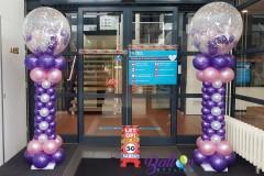 Balloon-Styling-Tilburg-ballonnenpilaar-ballonpilaar-50-jaar-Sara-verjaardag-ballonnen-Tilburg-1