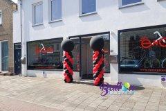 Balloon-Styling-Tilburg-ballonnenpilaar-ballonpilaar-Van-Engelen-Tweewielers-Chaam