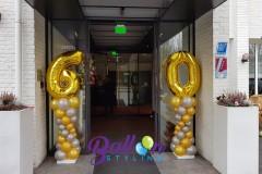 Balloon-Styling-Tilburg-ballonnenpilaar-ballonpilaar-ballonnencijfer-folieballon-goud-ballonnen-Tilburg-2