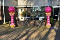 Balloon-Styling-Tilburg-ballonnenpilaren-40-jaar-ballonnen-Tilburg-1