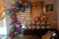 Balloon-Styling-Tilburg-organic-ballonnenslinger-kinderfeest-verjaardag-chrome-ballonnen-Tilburg-2