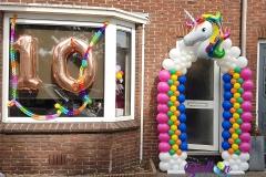 Balloon Styling Unicorn balonnenboog hallonboog Tilburg Reeshof