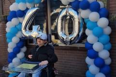 Balloon-Styling-ballonnenboog-ballonboog-40-jaar-verjaardag-ballonnen-Tilburg-1