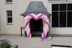 Balloon Styling ballonnenboog ballonboog hartenboog bruiloft Brabant Tilburg Reeshof