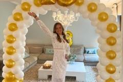 Balloon-Styling-ballonnenboog-ballonboog-metallic-goud-met-wit-verjaardag-party-cijfer-folieballonnen-ballonnen-Tilburg