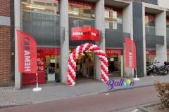 Balloon Styling ballonnenboog ballonboog opening HEMARKT Brabant TilburgReeshof