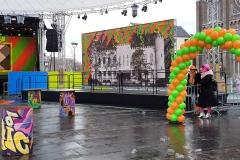 Balloon Styling ballonnenboog groen oranje prins carnaval Heuvel Tilburg februari 2018