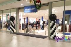 Balloon Styling ballonnendecoratie ballonnenpilaar ballonpilaar zwart wit Black Friday MillerandMonroe Den Bosch