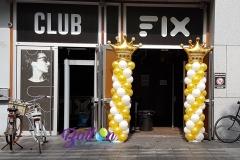 Balloon Styling ballonnenpilaar ballonpilaar Tilburg Reeshof Club Fix