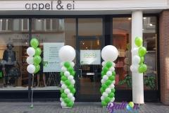 Balloon Styling ballonnenpilaar ballonpilaar heliumballonnen appel & ei Brabant Tilburg