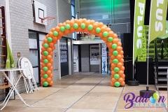 Balloon Styling luxe ballonnenboog Kieltjesbal carnaval 2018