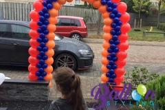 Balloon Styling luxe ballonnenboog ballonboog Armeense bruiloft Brabant Tilburg Reeshof3
