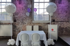 Balloon Styling luxe ballonnenpilaar love doves