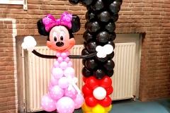 Minnie Mouse ballonnendecoratie