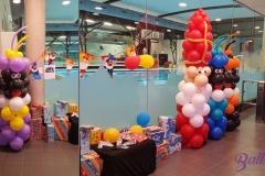 Sint en pieten zwemschool ballonnendecoratie