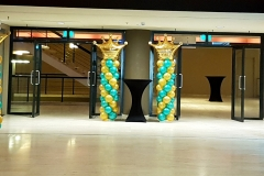 ballonnenboog ingang world forum theater forum Den Haag 2