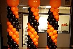 ballonnendecoratie dansschool Chalans 13-1