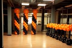 ballonnendecoratie dansschool Chalans