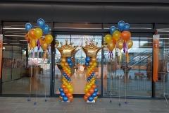 ballonnendecoraties voor Koningsdag