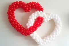 ballonnenhart rood dubbel