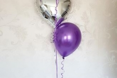 ballontros met folieballon