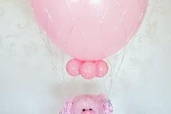 beertje in een luchtballon
