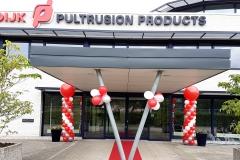 foto Van Dijk Pultrusion products ballonnenpilaren2