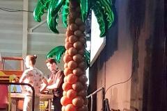 palmbomen podium carnaval