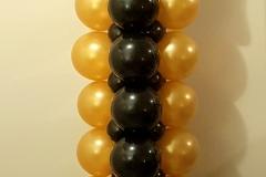 pilaar goud-zwart