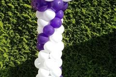 pilaar paars zonder topballon