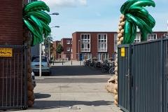 pilaren palmbomen