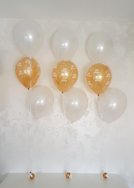 Heliumballonnen ballontrossen gronddecoratie vloerdecoratie tafeldecoratie verjaardag Balloon Styling Tilburg