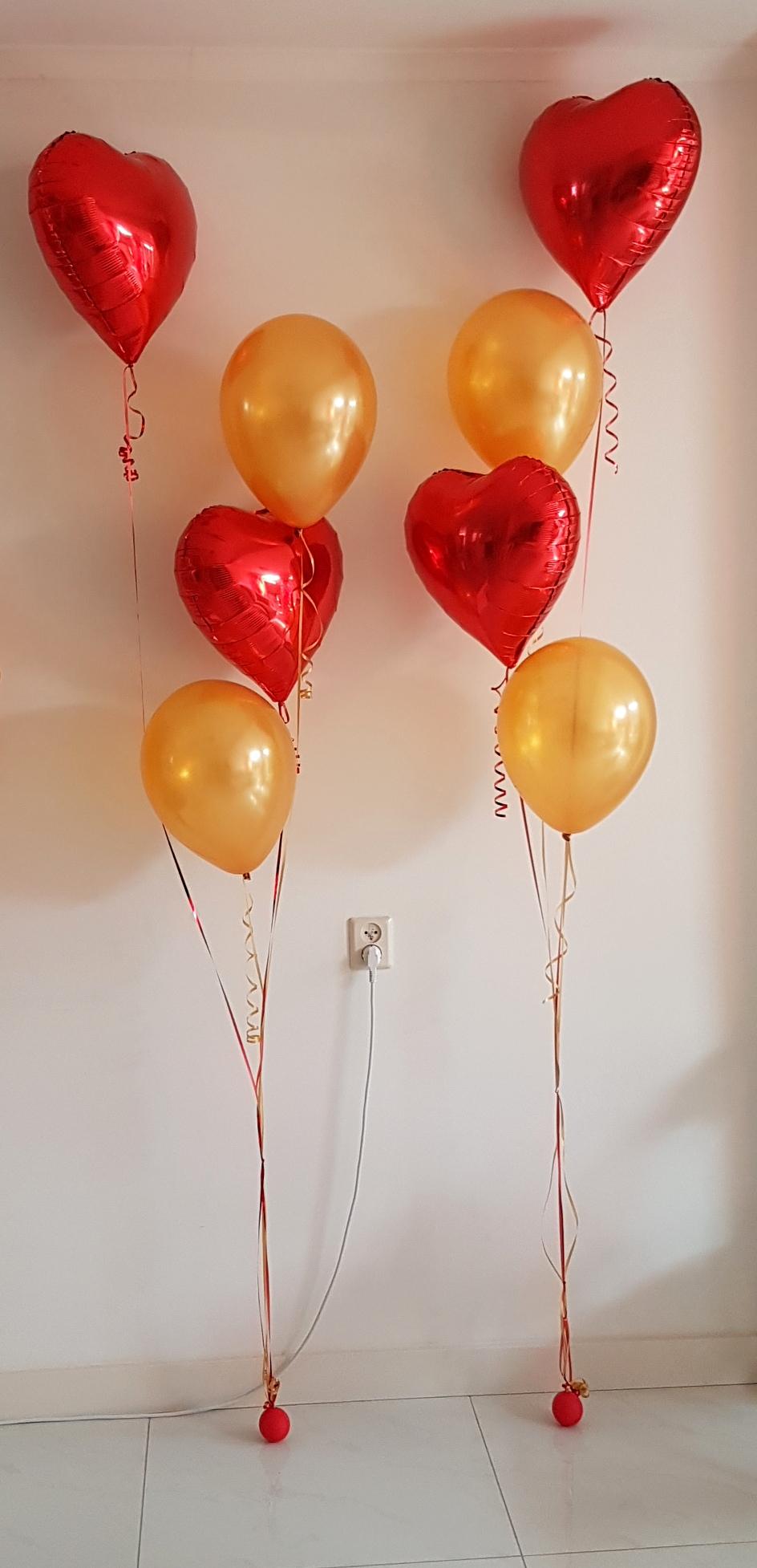Heliumballonnen ballontrossen gronddecoratie vloerdecoratie tafeldecoratie trouwerij Balloon Styling Tilburg