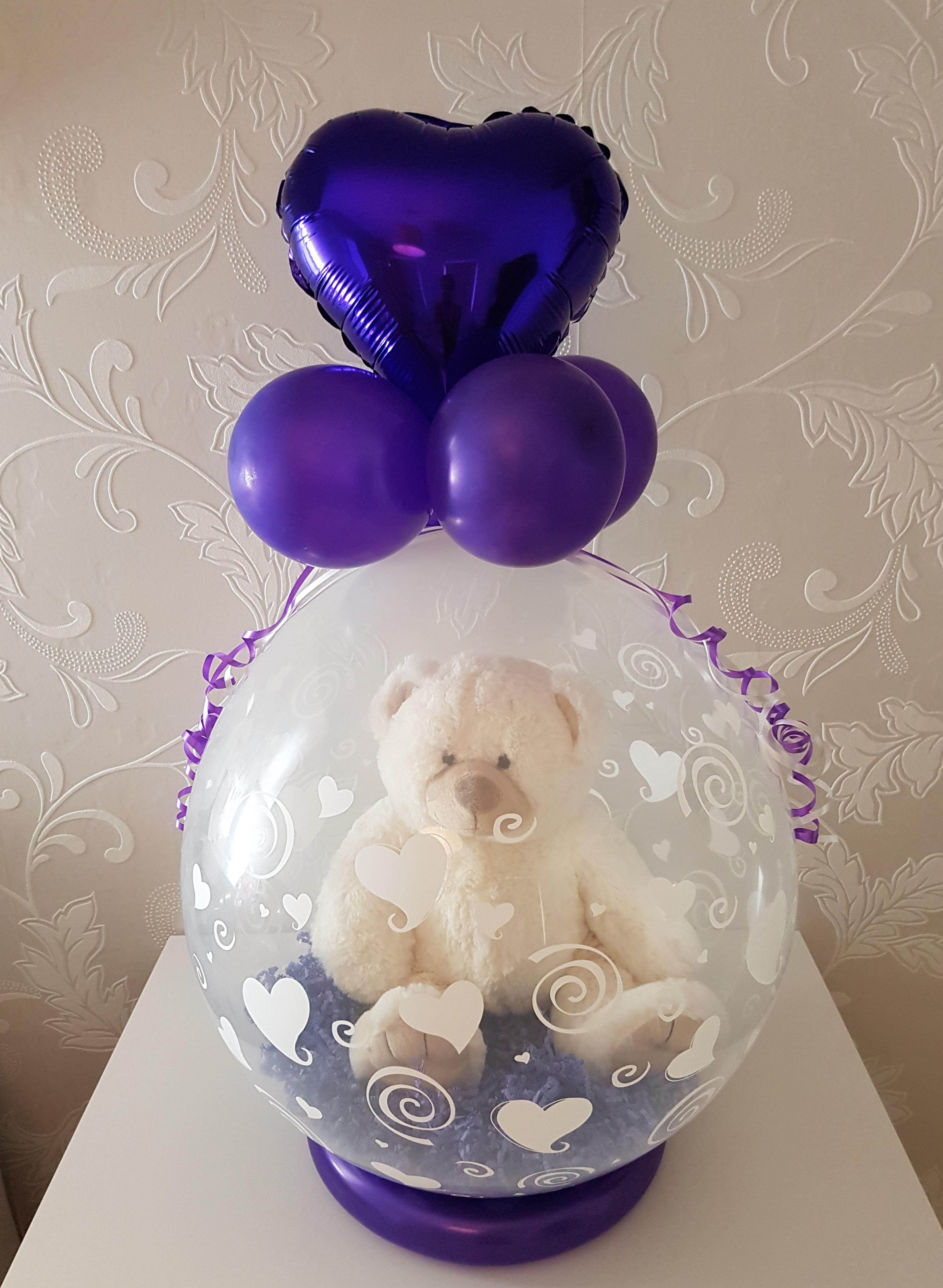 Balloon Styling cadeau in een ballon met beertje Tilburg Reeshof