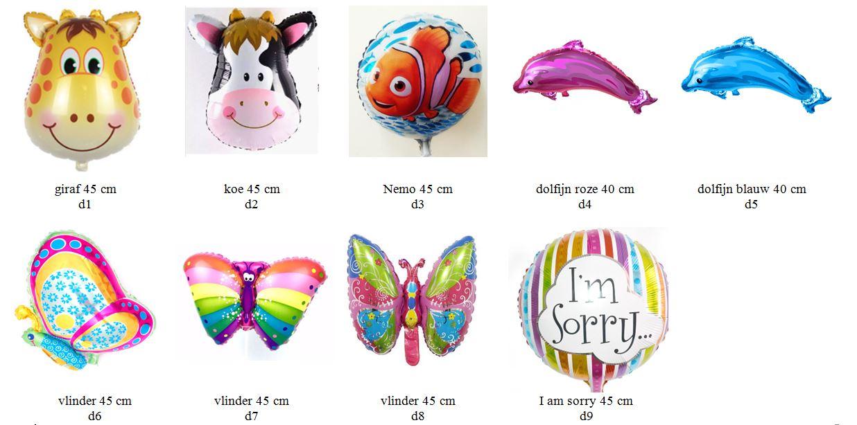 dieren folieballonnen