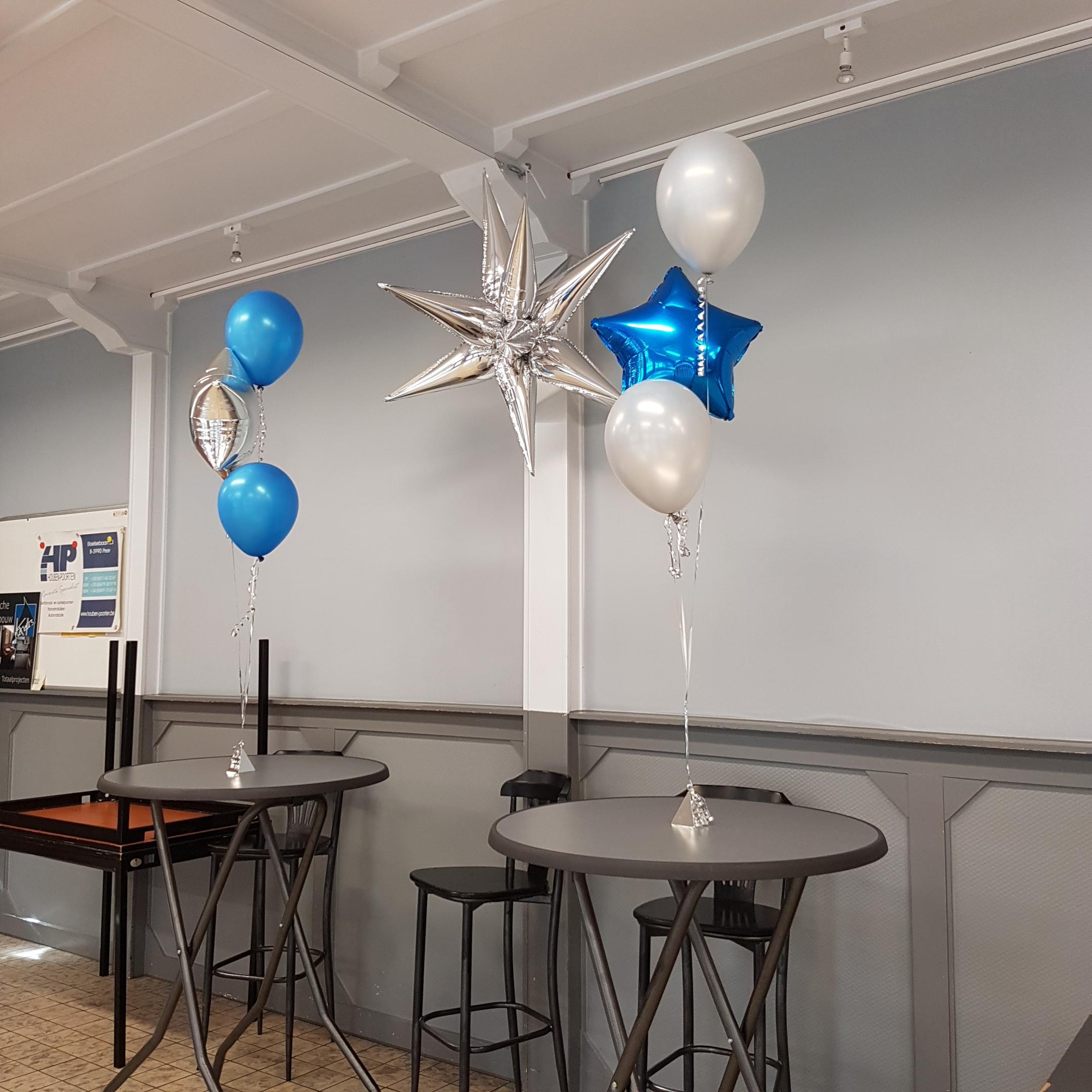 Heliumballonnen ballontrossen gronddecoratie vloerdecoratie tafeldecoratie ceremonie Balloon Styling Tilburg