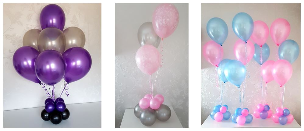 tafeldecoraties heliumballonnen