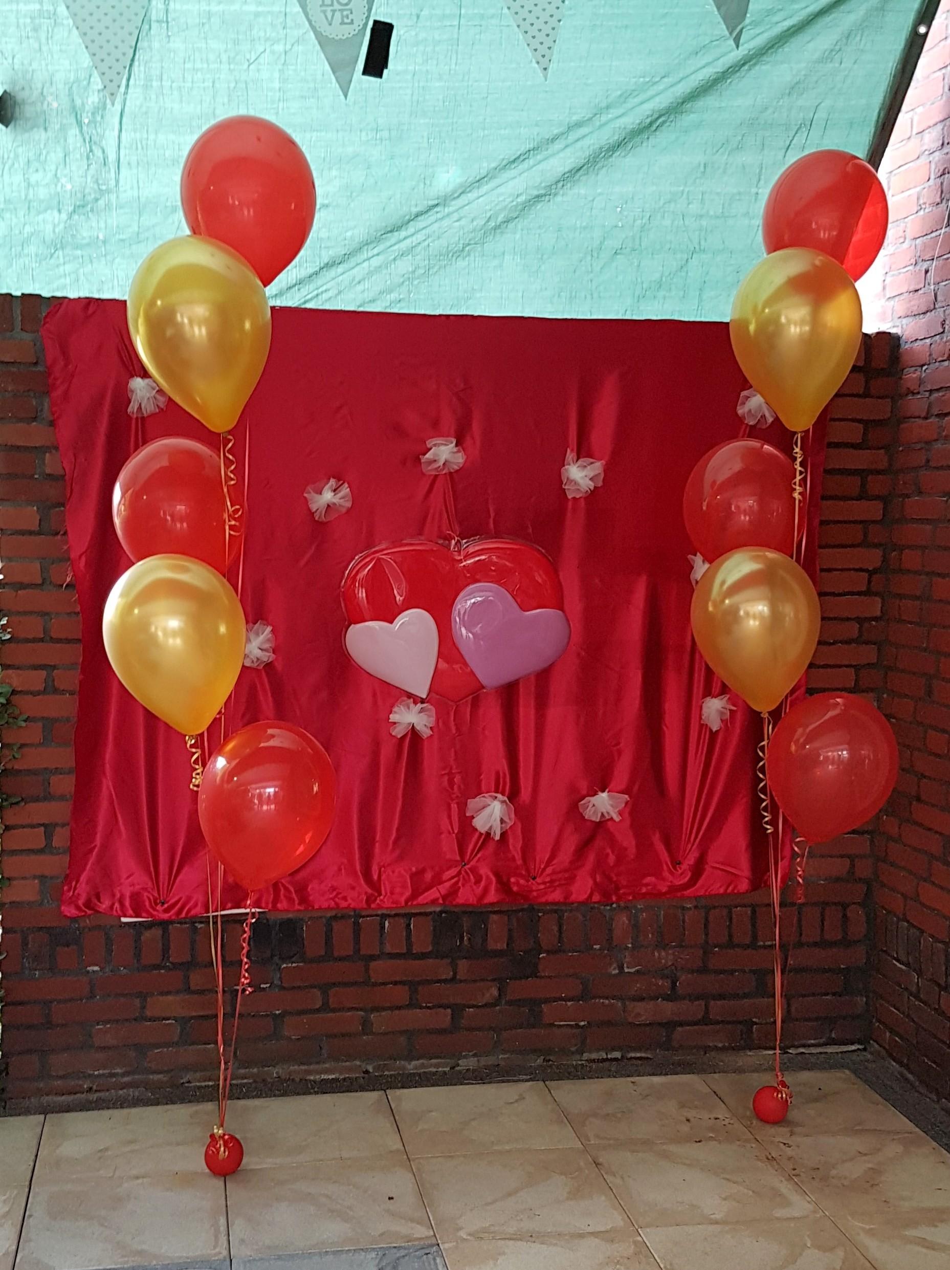 tros van 5 ballonnen