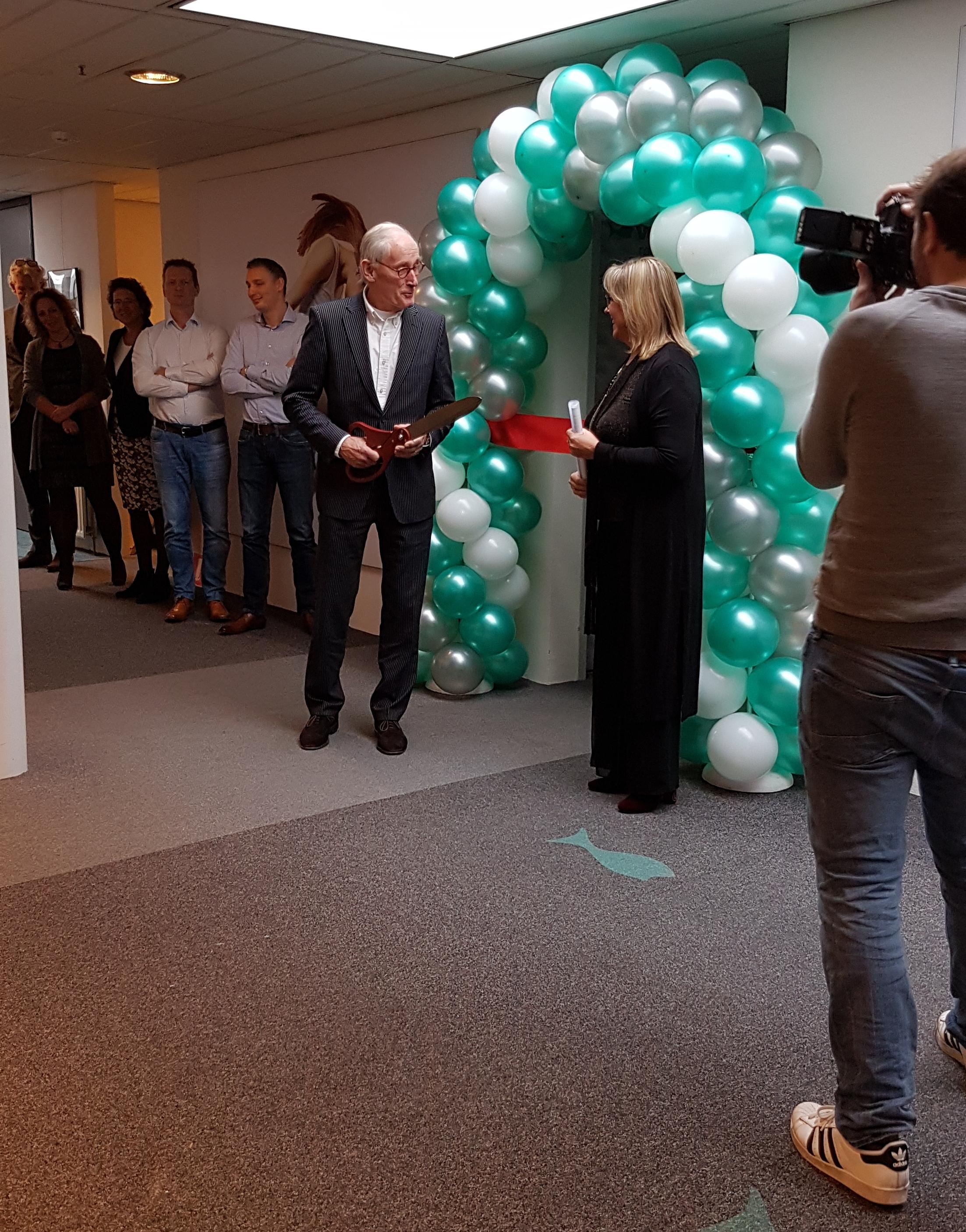 ballonnenboog ballonboog opening grote openingsschaar Balloon Styling Tilburg