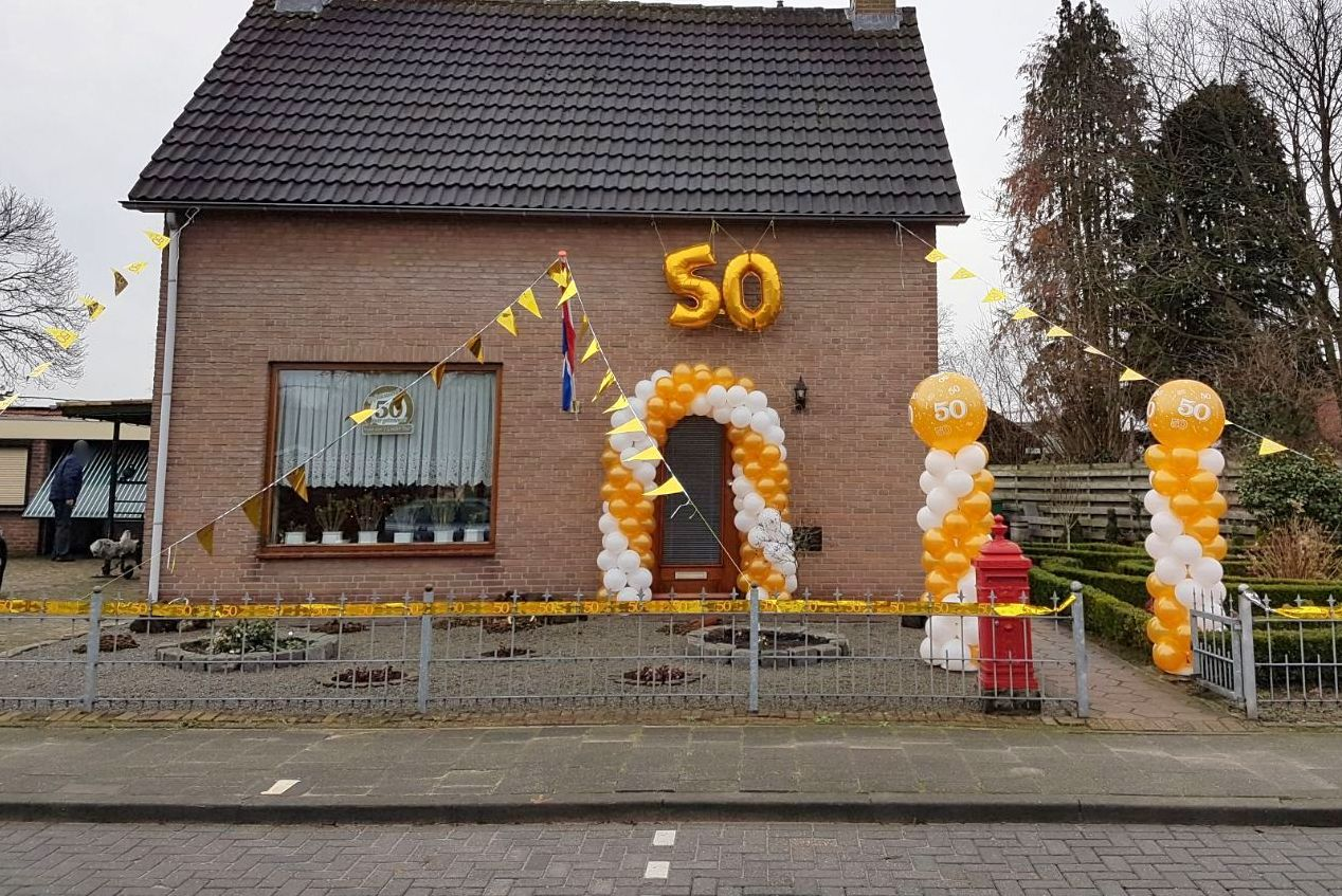 ballonnenboog ballonboog Balloon Styling Tilburg