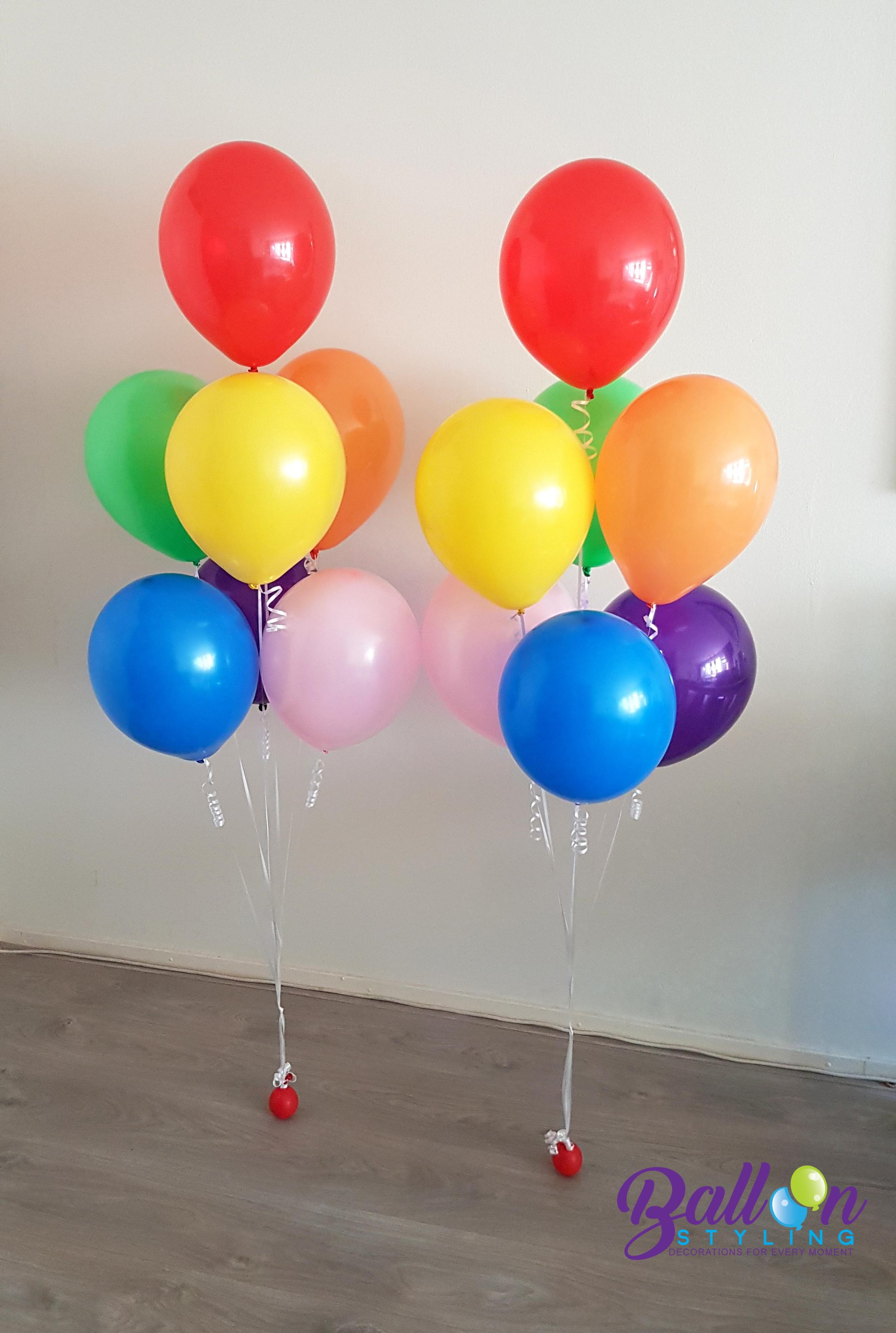Heliumballonnen ballontrossen gronddecoratie vloerdecoratie tafeldecoratie verjaardagBalloon Styling Tilburg