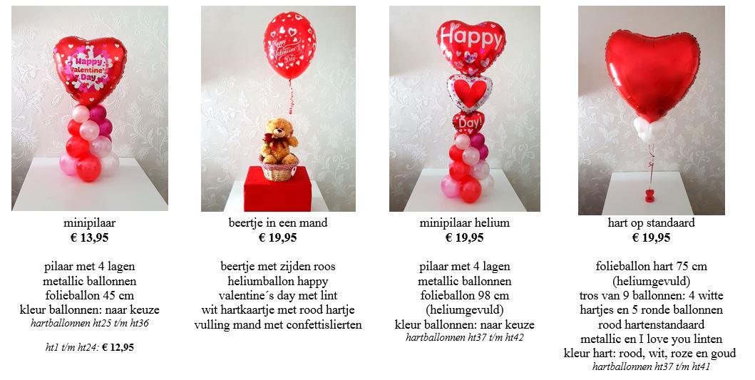valentijn beertjes en cadeau in een ballon2