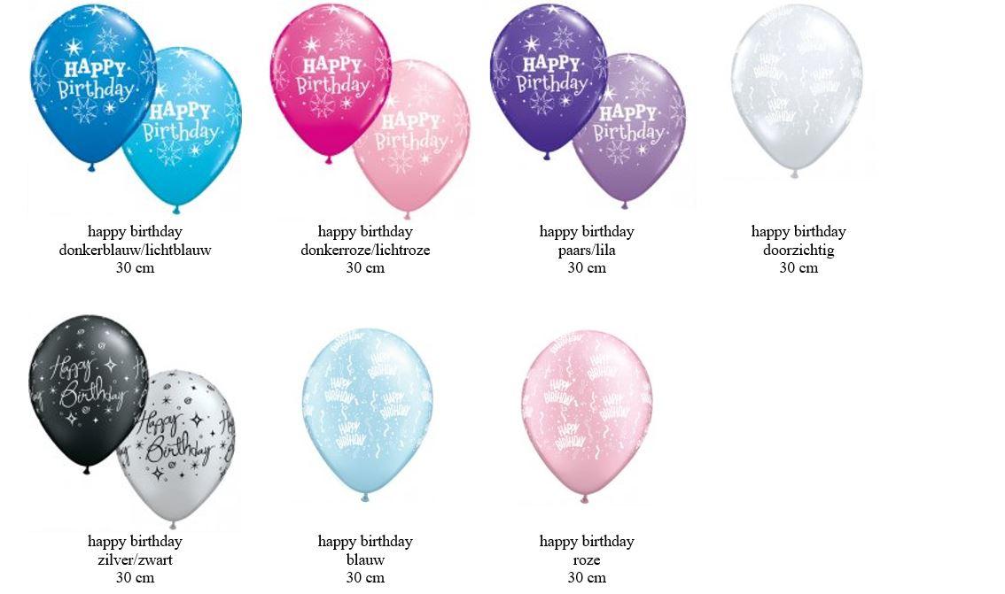 latex ballonnen voor verjaardag feest heliumballonnen tafeldecoratie gronddecoratie Brabant Tilburg Reeshof