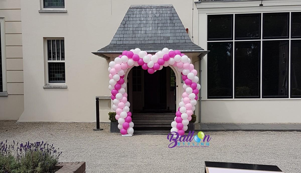 ballonnenboog ballonboog hartenboog Balloon Styling ballonnen Tilburg